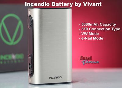 Vivant Incendio™ Battery - 5000mAh