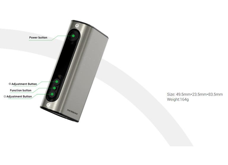 Vivant Incendio Battery - 5000mAh - e-Nail capable!