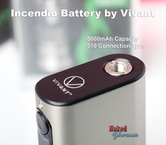 Vivant Incendio Battery - 5000mAh  @ Naked Vapour