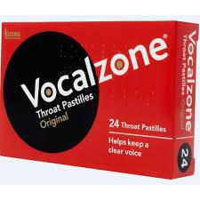 VOCALZONE PASTILLES ORIGINAL 24 PACK