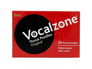 VOCALZONE Throat Pastilles 24pk