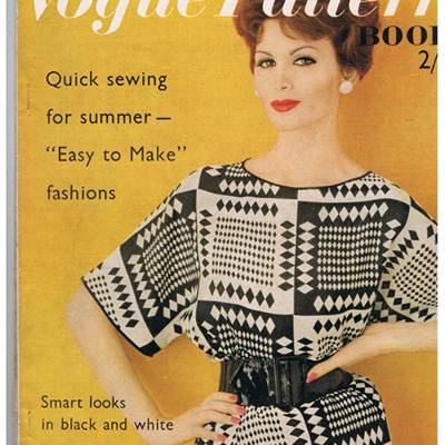 Vogue Pattern Books from 1960's