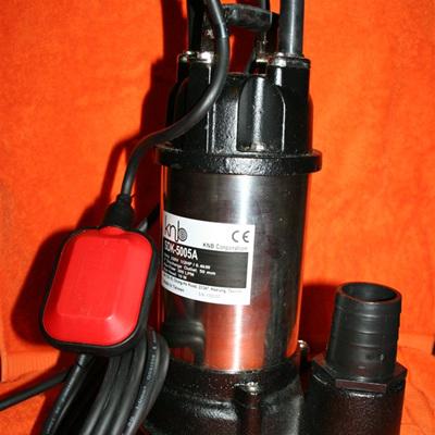 vortex sewage pump 1 hp