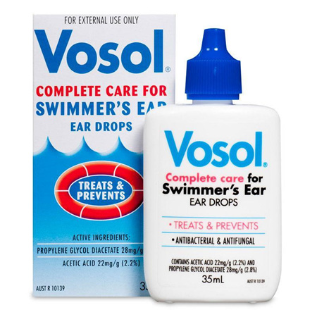 Vosol Swimmer's Ear Drops 35ml