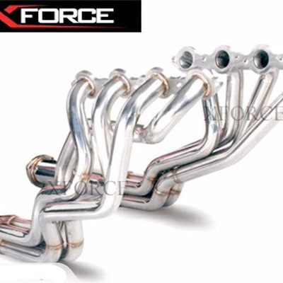 "VT-VZ Stainless Steel X-Force 2.5"" Headers"