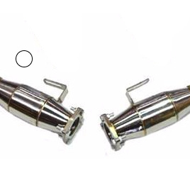 """VT-VZ Stainless Steel X-Force 3"""" Hi Flow Cat Pipes"""
