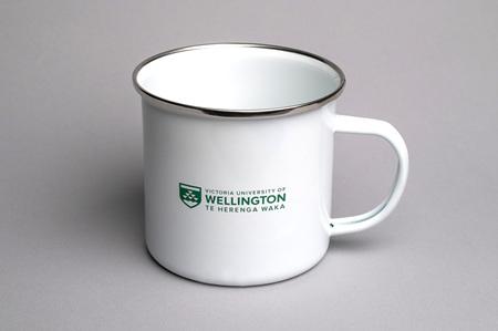 VUW Enamel Mug