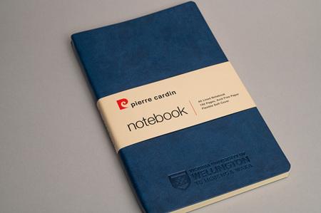 VUW Pierre Cardin Notebook Medium Blue