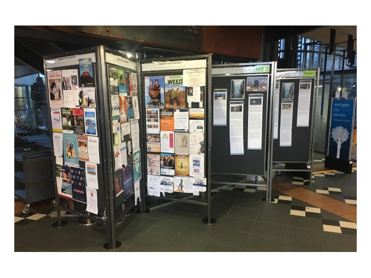 AFTER: Wellington Library Noticeboards