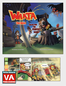Waata the Weta: Can He Find the Perfect Home? - Picture Book