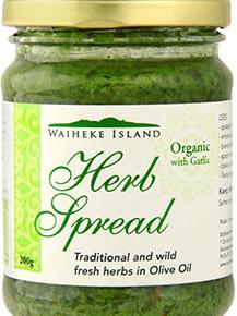 Waiheke Island Organic Herb Spread - 200g