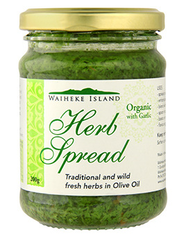 Waiheke Island Organic Herb Spread