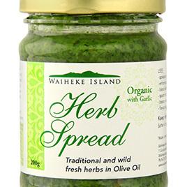 Waiheke Island Organic Herb Spread 3 Sizes 2 Variations