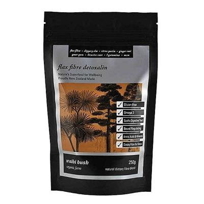 Waihi Bush Flax Fibre Detoxalin 250g