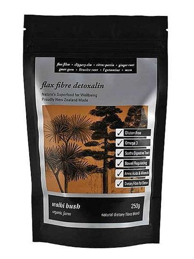 Waihi Bush Flax Fibre Detoxalin 250gm