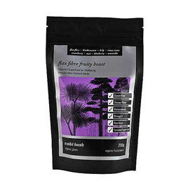 Waihi Bush Flax Fibre Fruity Boost 250gm