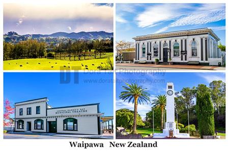 Waipawa Postcard