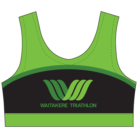Waitakere Tri Club Crop Top