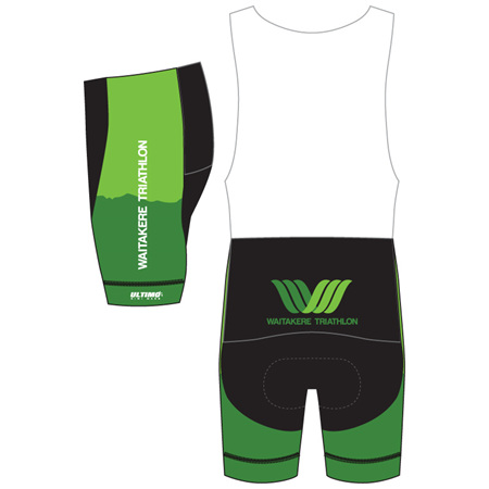 Waitakere Tri Club Cycle Bibshorts