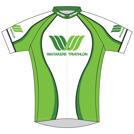 Waitakere Tri Club Cycle Jersey
