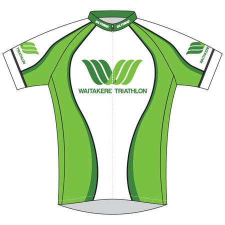Waitakere Tri Club Cycle Jersey