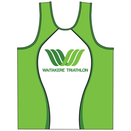 Waitakere Tri Club Running Singlet
