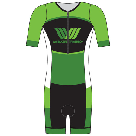 Waitakere Tri Club Sleeved Tri Suit