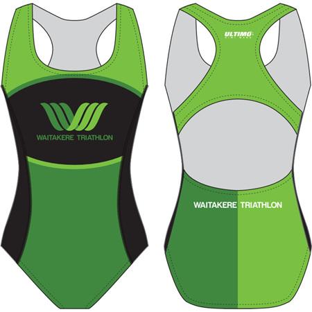 Waitakere Tri Club Swimsuit