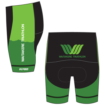 Waitakere Tri Club Triathlon Shorts
