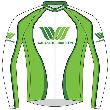 Waitakere Tri Club Warmup Jacket