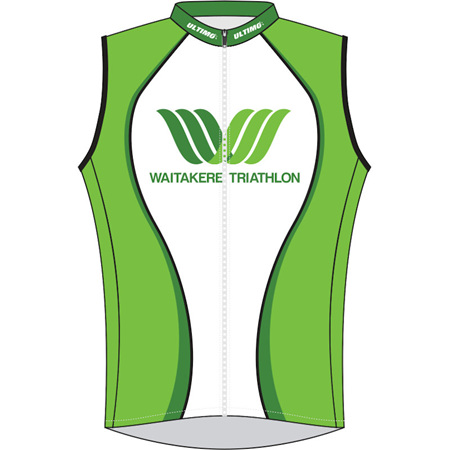 Waitakere Tri Club Wind Vest