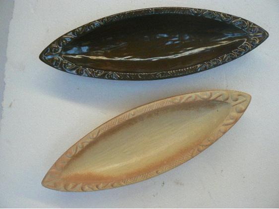 Waka bowl, NZ collectable art, Maori Waka, ceramic