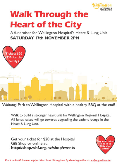 'Walk Through the Heart of the City' Ticket