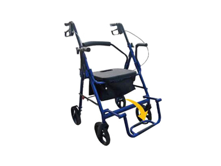 Walker that Converts to a Transfer Wheel Chair AML