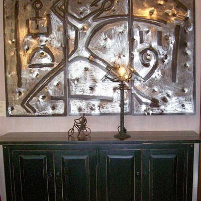 ART - Iron Wall Triptych