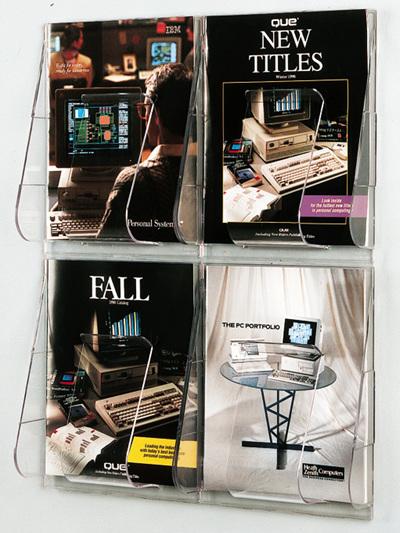 Wall Display Brochure Holders