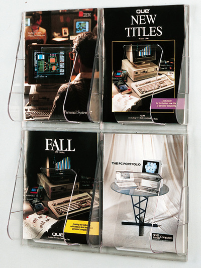 Wall Display Brochure Holders