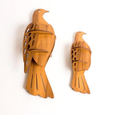 Wall Mounted Kereru Birds