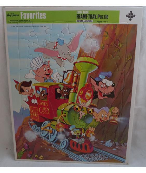 Walt Disney Frame Tray Puzzle