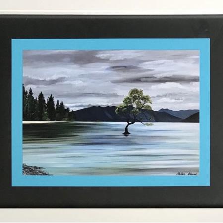 Wanaka Tree - Blue/Black - medium frame