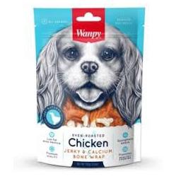 Wanpy Dog - Chicken Jerky & Calcium Bone Wraps