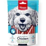 Wanpy Dog - Chicken Jerky & Codfish