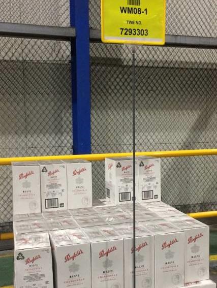 Warehouse floor stands