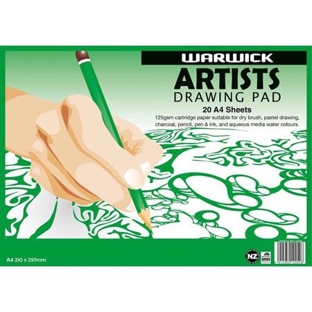 Warwick A4 Drawing Pad - 20 page