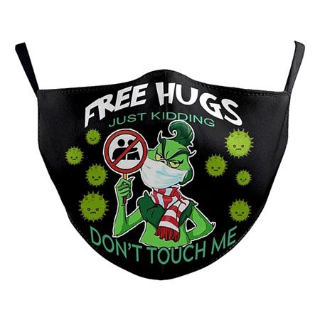 Washable Mask - Free hugs