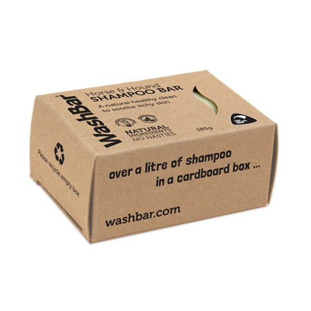 WashBar Horse and Hound Shampoo Bar 185g
