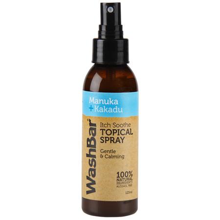 WashBar Itch Soothe Topical Spray 125ml