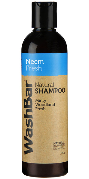 WashBar Natural Shampoo Neem Fresh 250ml