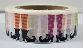 Washi Tape - 1600s-Style Shoes and Tights