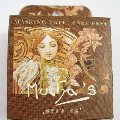 Washi Tape - Alphonse Mucha: Art Nouveau Ladies B